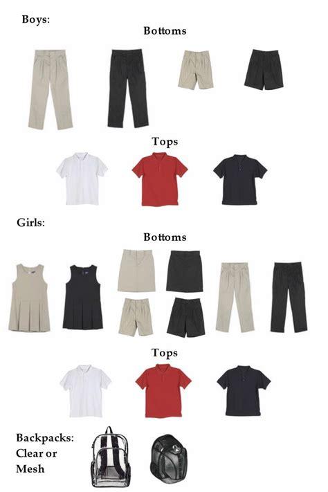 Elementary Dress Code by School Dress Code Ermel Elementary School