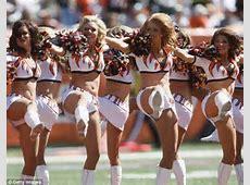 Cincinatti Bengals cheerleaders banned from wearing