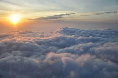 Clouds Sunset Sky Air Cloud Dusk Horizon