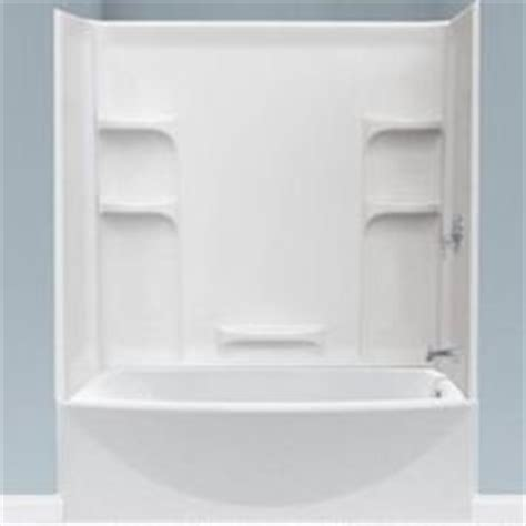 Three Piece Shower Surround by Bathroom Renovation On Pinterest Home Depot Tub