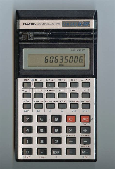 casio college fx pocket calculator photo page everystockphoto