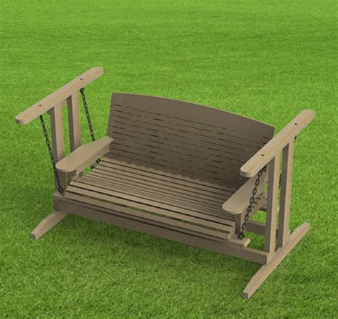 standing porch swing woodworking plans easy