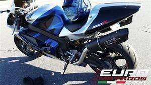 Honda Rc51 Sp2 Gpr Exhaust Furore Black Dual High Mount