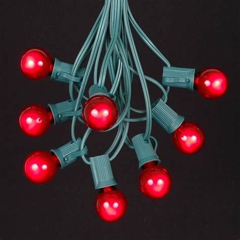 red outdoor christmas lights red c7 outdoor christmas light string sets novelty