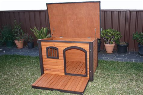 extra large wooden dog kennel premium