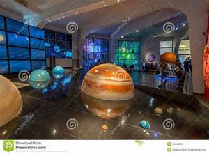 Interactive Mock Of The Solar System In The Museum Urania ...