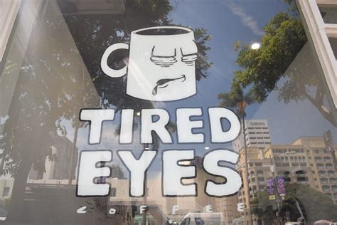 Tired eyes started on a tiny roaster in our parents backyard. Tired Eyes Coffee Downtown San Diego - Eater San Diego