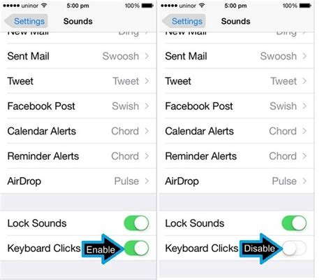 how to turn iphone sound how to disable keyboard clicks sound on iphone 8 plus 7