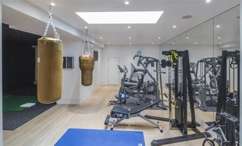 ricky gervais basement gym doubles    london