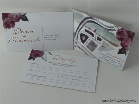 wedding response cards nyc cheap invitations rsvp cards