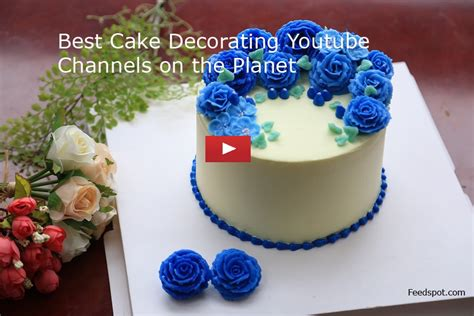top  cake decorating youtube channels  cake decoration
