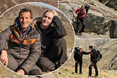 Kate Winslet joins Bear Grylls for a demanding hike as ...