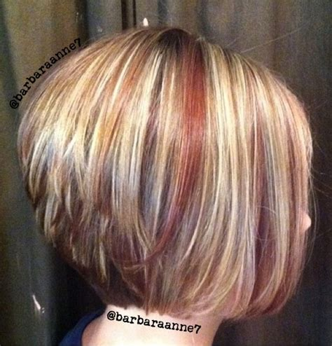 dimensional color highlights lowlights blonde red