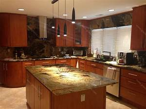 val d desert dream granite kitchen countertop island With countertops and backsplashes for kitchens