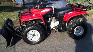 2001 Honda Recon 250 With Plow