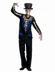 Halloween Skelett Kostüm : voodoo skelett halloween kost m schwarz blau skelett kost m ~ Lizthompson.info Haus und Dekorationen