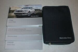 Operator's manual sl class mercedes benz usa. 2009 MERCEDES Benz C300 C350 Owners Manual 09 C 350 300 W/CASE +NAVIGATION GUIDE | eBay