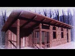 Tiny House Cabin Highly Energy Efficient Off Grid - YouTube