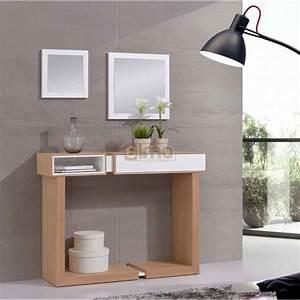 Console Entrée Ikea : console entr e contemporaine miroirs david ~ Teatrodelosmanantiales.com Idées de Décoration