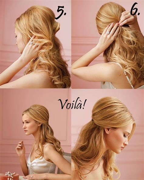 diy wedding day hair 3 easy tutorials beauty health