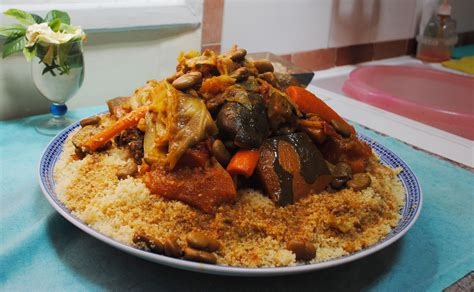 moroccan cuisine recipes couscous in marrakesh