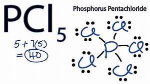 Pcl5 Lewis Structure - How To Draw The Lewis Structure For Pcl5
