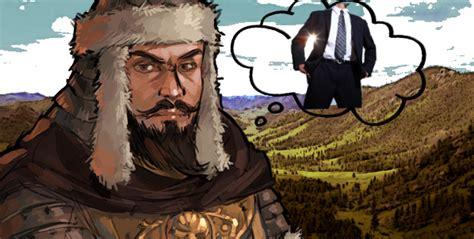 genghis khan run  business  startup