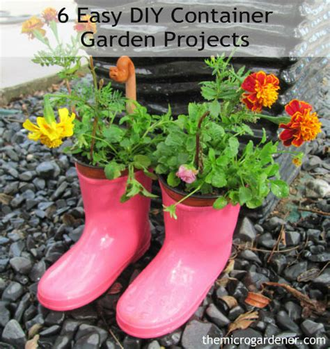 Easy Diy Garden Projects how to diy projects recipes archives the micro gardener