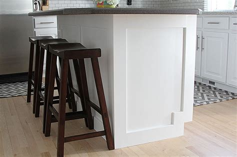 putting trim on cabinets how to add moulding to a kitchen island great idea for