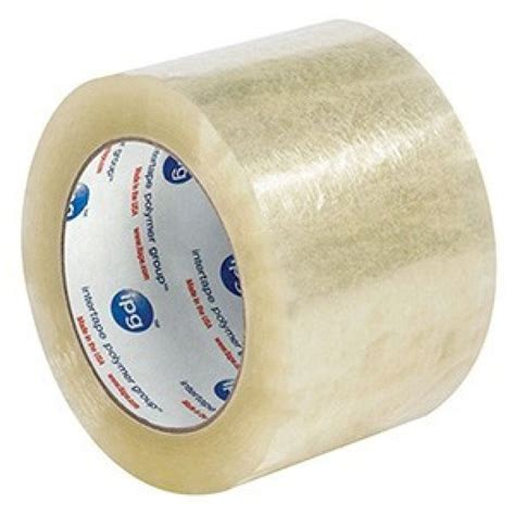 3 Inch X 110 Yd Clear Box Packing Tape  Intertape 6100