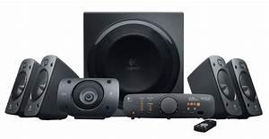 New Logitech Surround Sound Speakers Z906