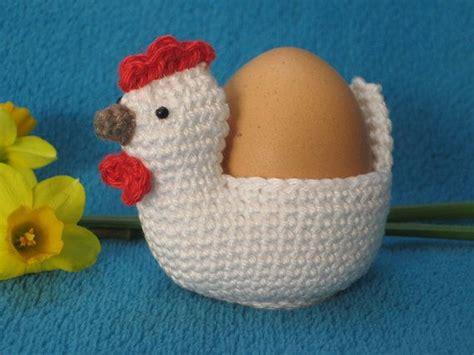 Chicken Egg Holder Cosy Easter Spring Amigurumi Pdf
