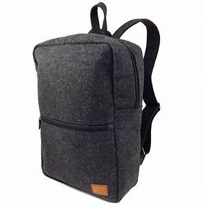 Macbook Pro Tasche 13 : venetto backpack tasche rucksack aus filz f r 13 macbook surface ~ Pilothousefishingboats.com Haus und Dekorationen