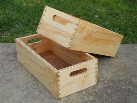 plywood box  diy wood box plywood projects beginner