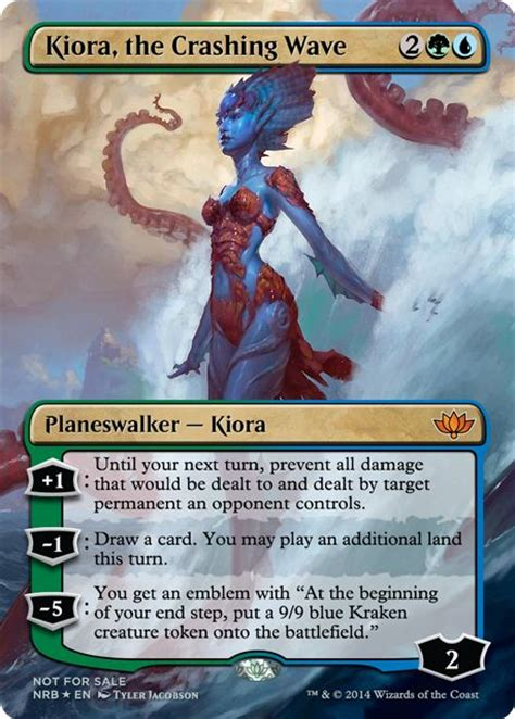 kiora the crashing wave deck build 17 best images about mtg altered on herons