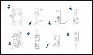 Urdb1 Video Doorbell From Uniview  2 Way Audio  Wifi