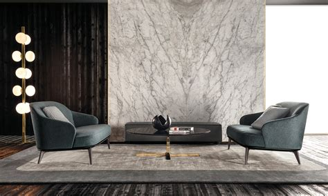 Image Result For Minotti Showroom Marble Feature Wall