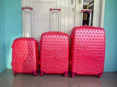 Koper Trolley Hello Hotpink koper hello original trolley dan koper untuk anak