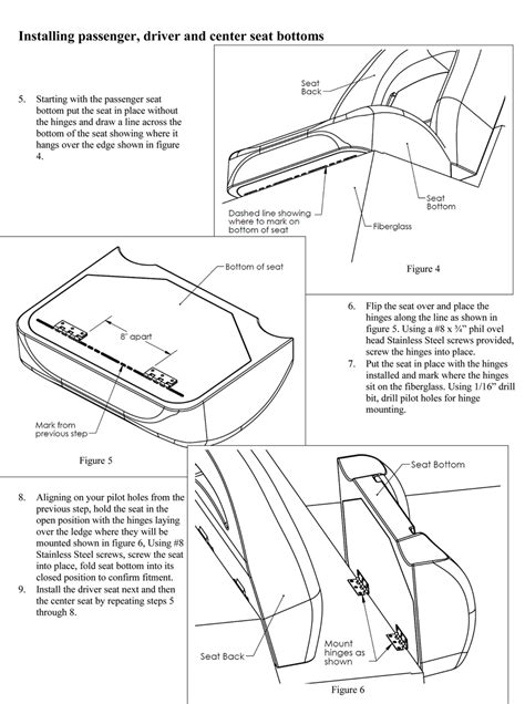 Llebroc Industries Bass Boat Seats by 201 204 305 307 Tzx Bass Boat Installation