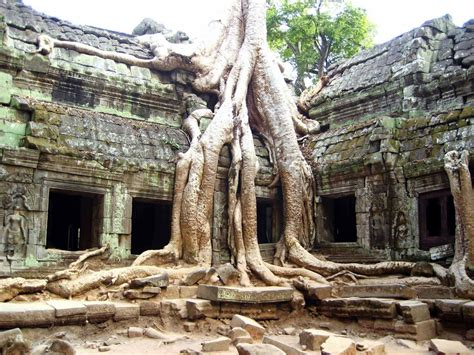 The Great Temple Of Angkor Wat Siem Reap Cambodia Flow