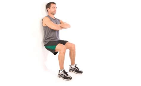 Chair Sit Ups Benefits by 10 Benefits Of Wall Sit Exercises Bodybuilding Estore