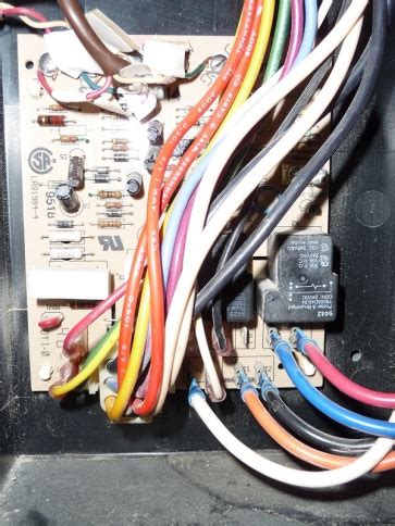 replacing furnace control board  assistance pics