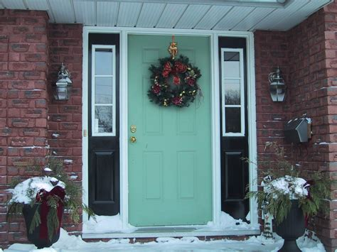 Light Grey House With White Trim Front Door Colors For