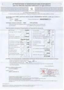 Carte Grise Collection En Ligne : le certificat de conformit d livr par le constructeur ~ Maxctalentgroup.com Avis de Voitures