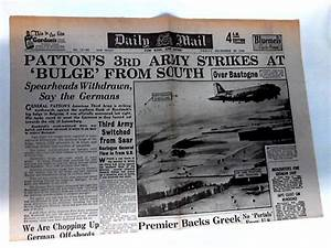Daily Mail Dated Friday, December 29th 1944 by Unknown ...