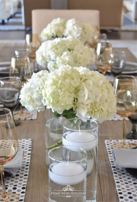 Easy and Elegant Inexpensive Centerpiece Home with
