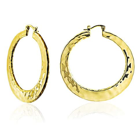 Large Hammered Hoop Earrings High Polished 2in. Wedding Ring And Band. Square Cross Pendant. Tag Rings. Open Heart Rings