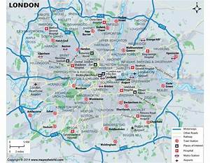 Buy London City Vector Map for Sale