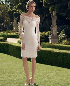vestido de noiva curto vintage short wedding dress 2017 With short wedding dresses 2017