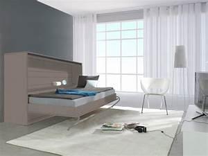 armoire lit ouvert linea With meuble pour petit appartement